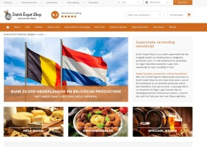 Website Dutchexpatshop.nl