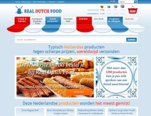 Website van Real Dutch Food