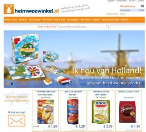 Website van Heimweewinke.nl